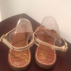 Sam Edelman Shoes - Sam Edelman Gold Sandals